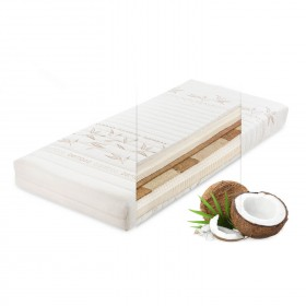 Ležišče iz lateksa in kokosa Dollar Coco Natur, 18 cm