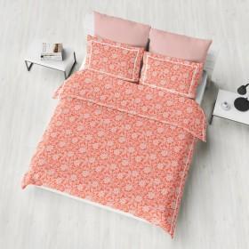 Bombažna posteljnina Donna - oranžna