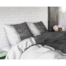 Bombažna posteljnina Dream - siva