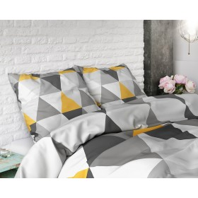 Bombažna posteljnina Dakota - siva