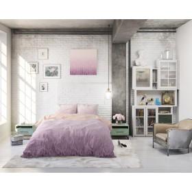 Bombažna posteljnina Melody - vijolična