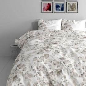 Bombažna posteljnina Grace - bež