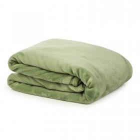 Dekorativna odeja Anna - olivno zelena