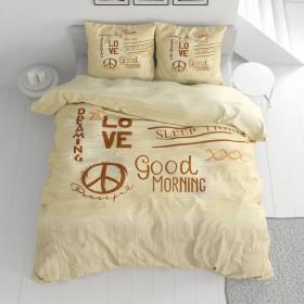 Bombažna posteljnina Love&Piece