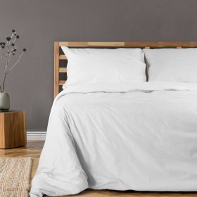 Bombažna posteljnina Svilanit Star White - bela