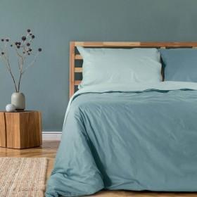 Obojestranska bombažna posteljnina Svilanit Pine Green