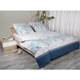 Bombažna posteljnina Svilanit Niky - modra