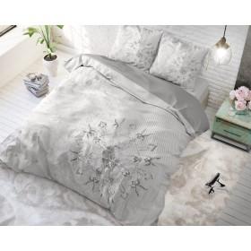 Bombažna posteljnina Harmony - siva
