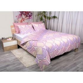 Bombažna posteljnina Joana - roza