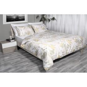Bombažno satenasta posteljnina Svilanit Larisa - bež