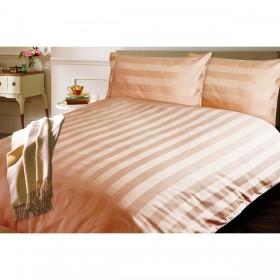 Bombažno satenasta posteljnina Isabella - rjava